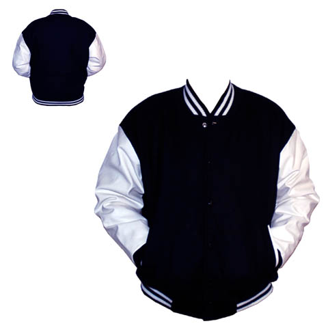 BASEBALL JACK BLAUW/WIT 3XL