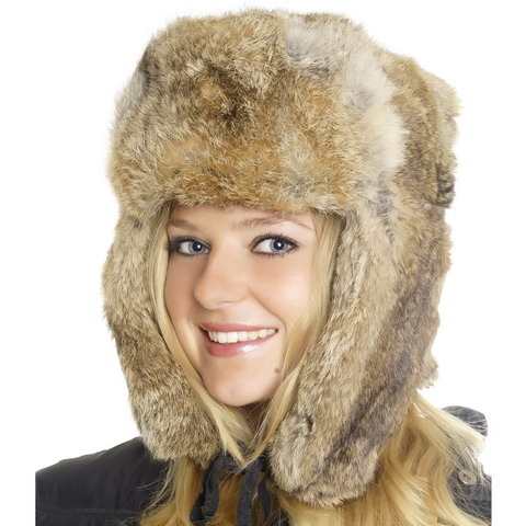 RUSSIAN FUR HAT BROWN