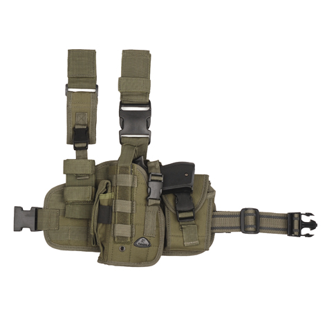 HIP MOLLE LEG HOLSTER LINKS MULTI CAMO