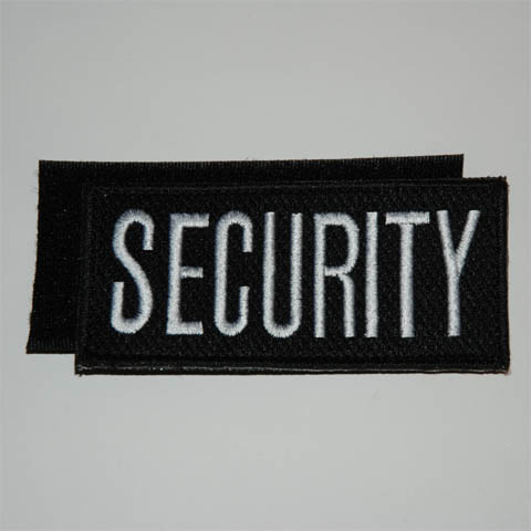 EMBLEMA TEJIDO SECURITY DIK