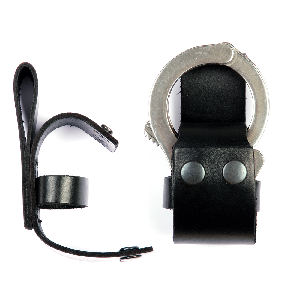 Hand cuffs Holder Leather