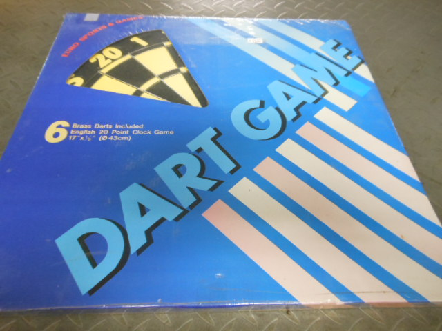 DARTBOARD ENGLISH 20 POINT GAME (43CM)