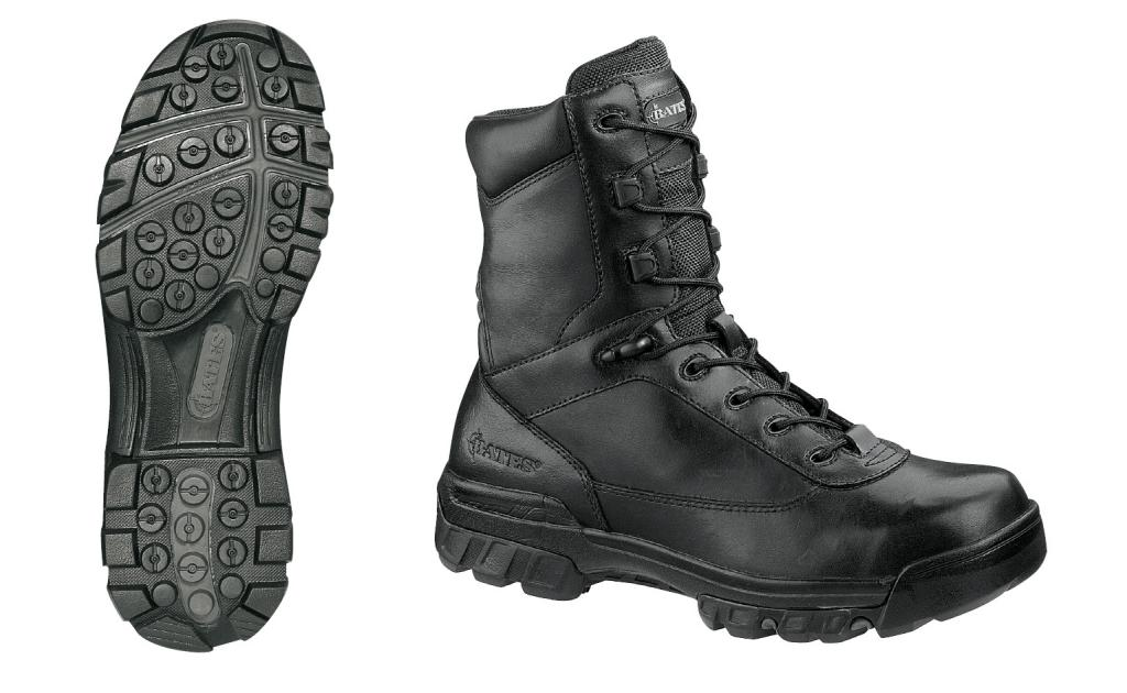"BATES Enforcer Tactical Sport 8"" Leather/Nylon Black (410)"