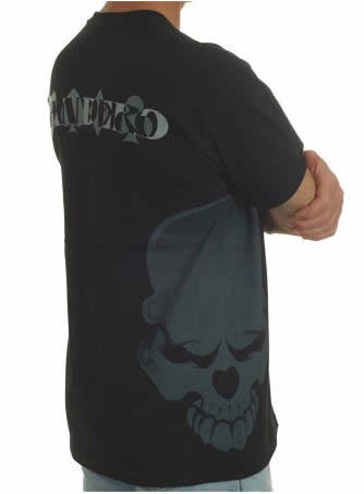 BANDERO T-SHIRT SKULL BLACK XL