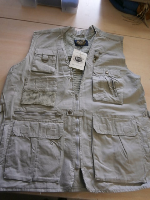 Tropical Vest Khaki Multex Maat XL