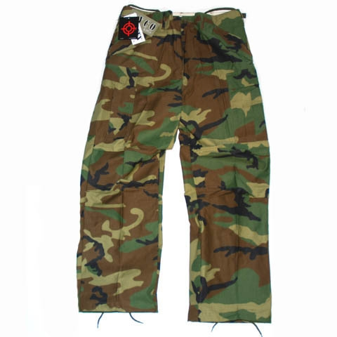 TROUSERS M65 NYCO WOODLAND
