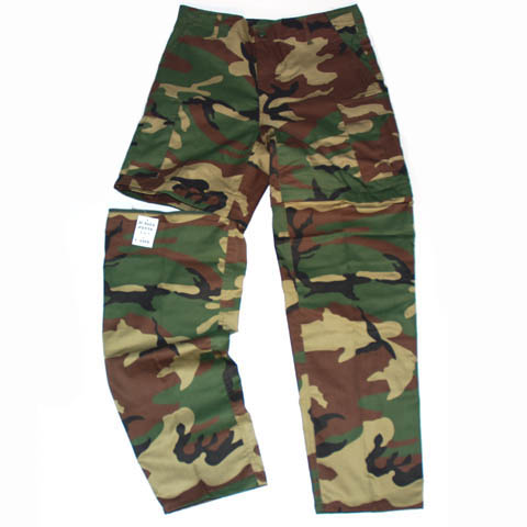 BDU UNZIPPABLE PANTS