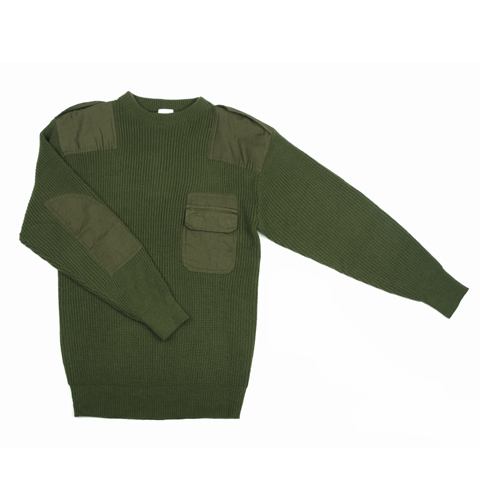 COMMANDO TRUI KIND ACRYL GROEN MT. S/6