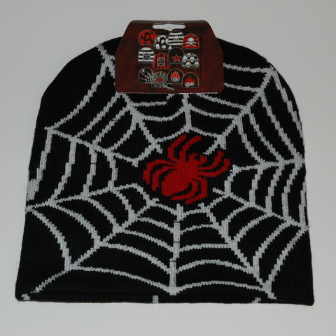 BEANIE red spider with BLANCA web