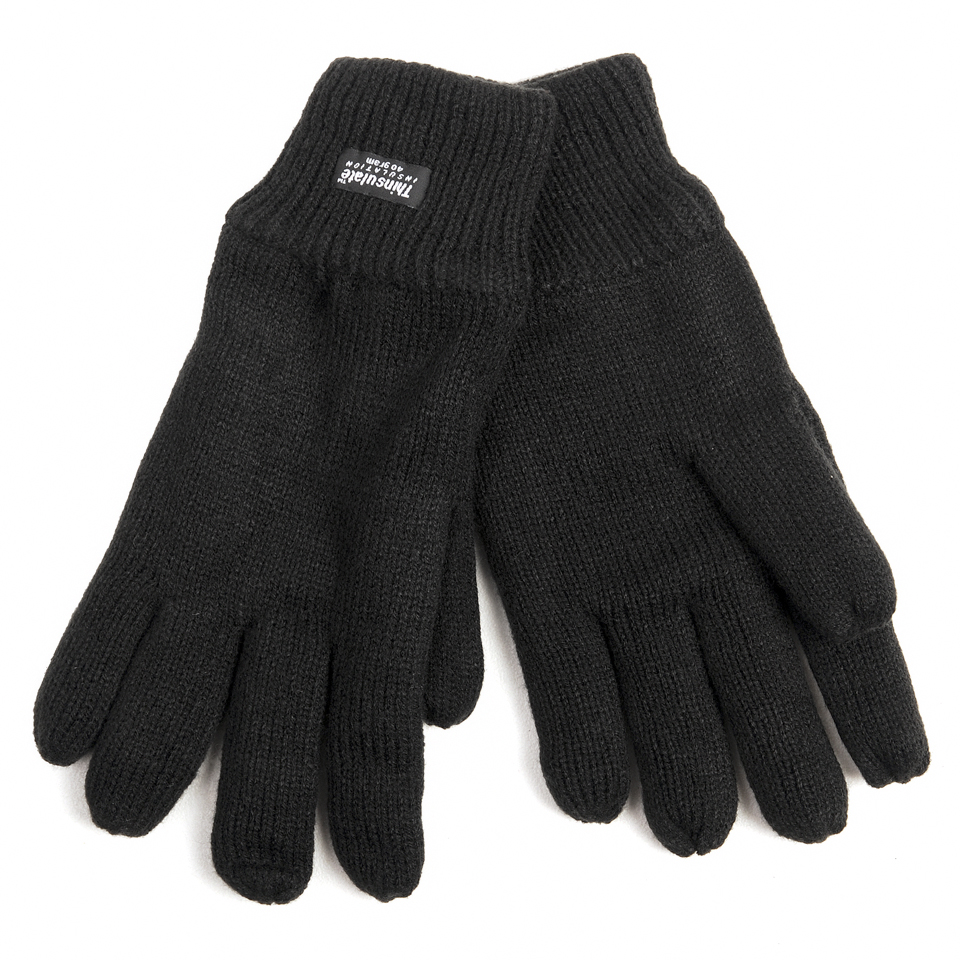 JUEGO GUANTES THINSULATE ANTRACIT XL/XXL