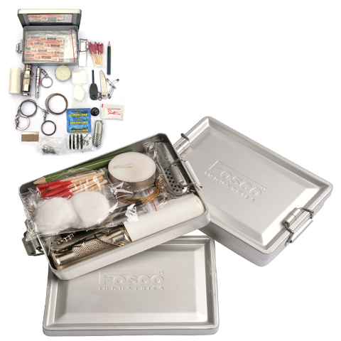 SURVIVAL BOX ALUMINIUM GROOT