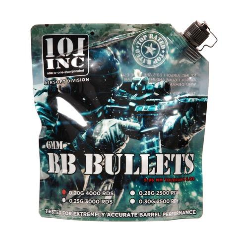 Airsoft extreme BBs 0.20g 6mm bag 4000 pieces
