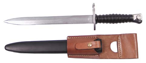 BAYONET ZWITSERS STGW 57 WITH POUCH