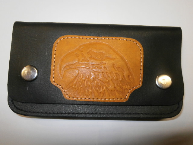 WALLET LEATHER MIDDLE EAGLE