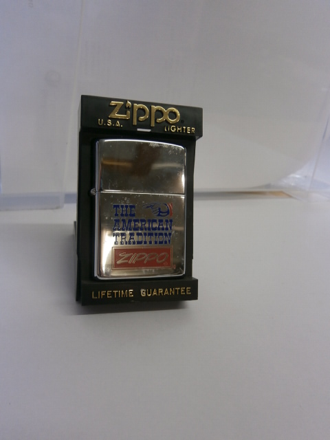 ZIPPO THE AMERICAN TRADITION
