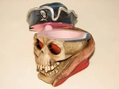 SKULL PIRATE SAILOR