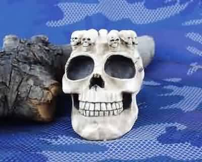 STATUE(U) SKULL WITH ASHTRAY