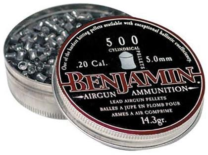 BENJAMIN CYLINDRICAL PELLETS 5.0MM(500)