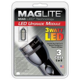 Maglite 3Watt LED 2 C-Cell and D-Cell Replacement Bulb