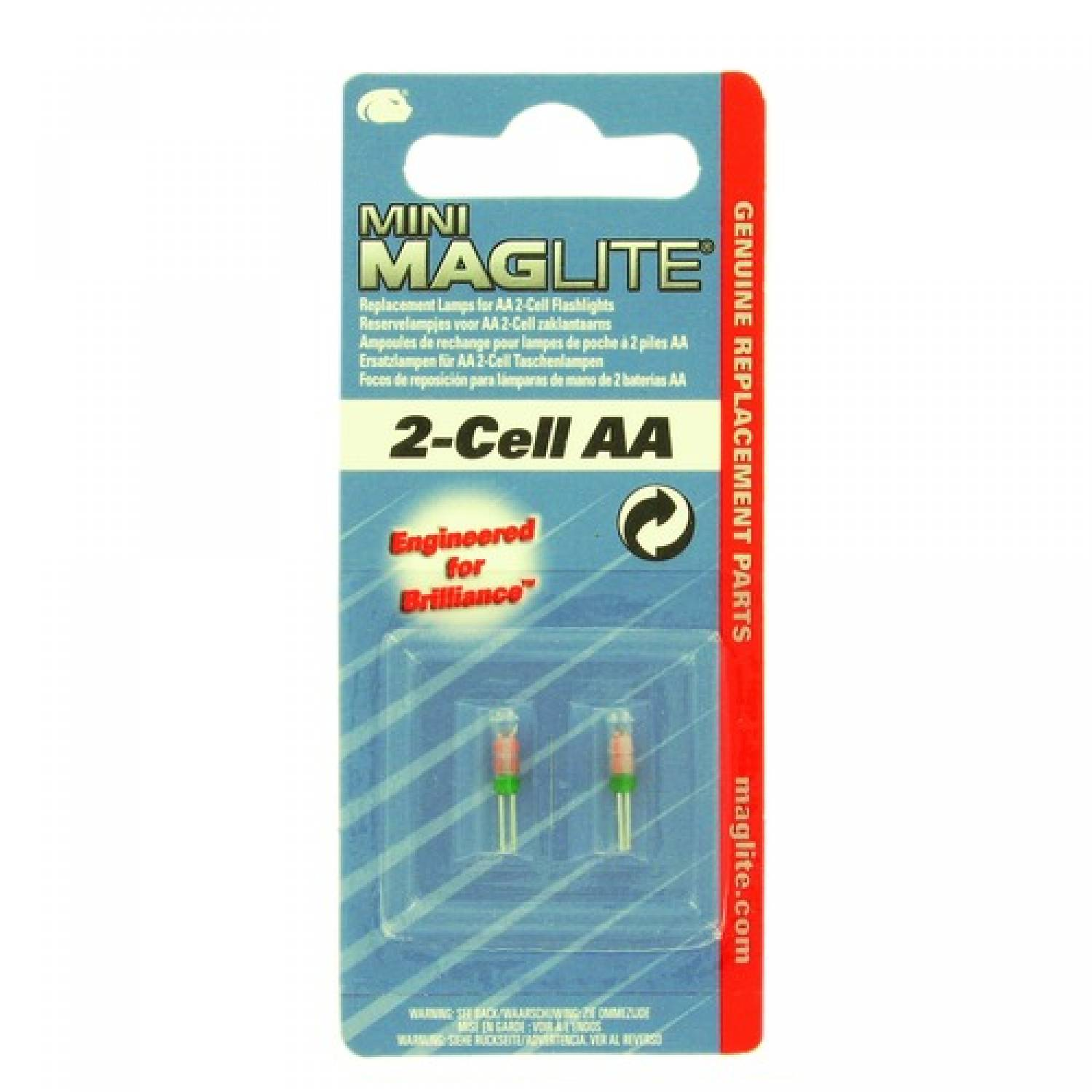MAGLITE 2-CELL AAA REPLACEMENT BULB
