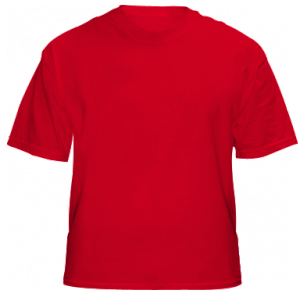 T-SHIRT RED SIZE M