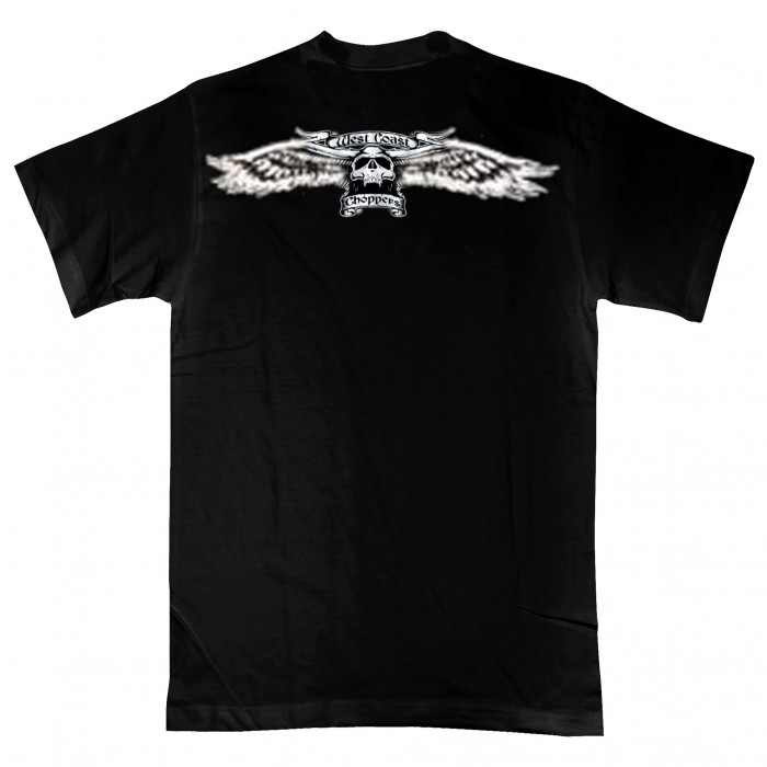 WCC - Winged Skull Black maat: M