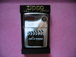 ZIPPO HOLLYWOOD CLAPBOARD