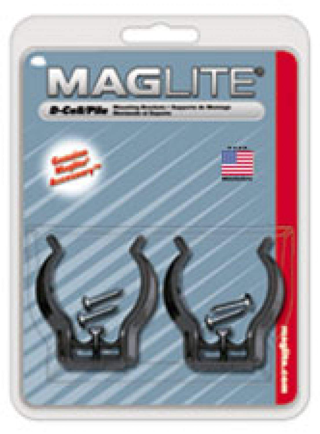 MAGLITE D-Cell Mounting Brackets