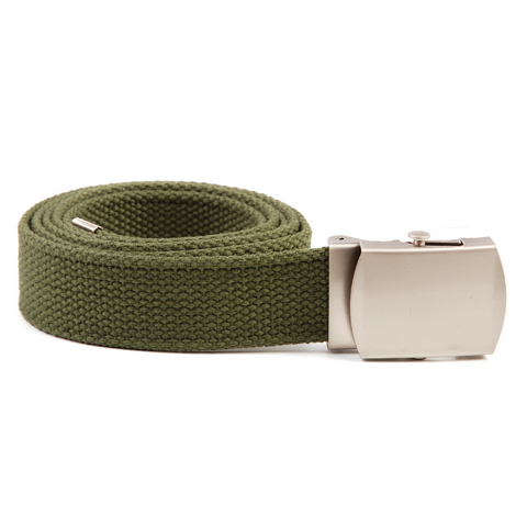 TROPICAL BELT WITH CHROME BUCKLE