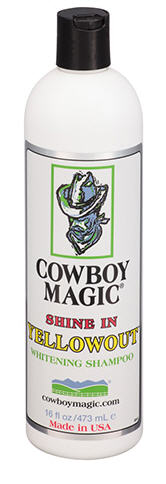 COWBOY MAGIC® Shine In YellowOut shampoo 944ml