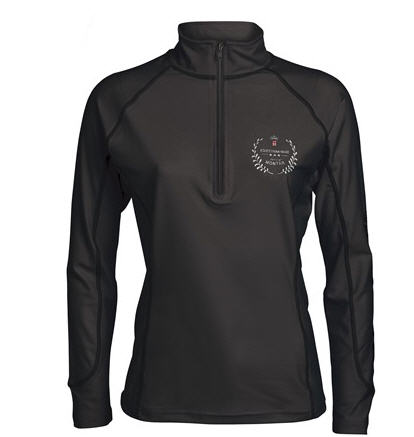 Montar ESS black long sleeve functional T-shirt